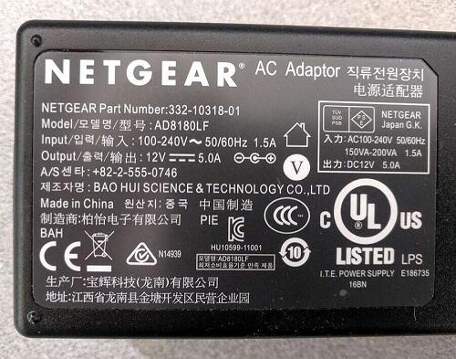 Netgear_R4500_router_power_specs