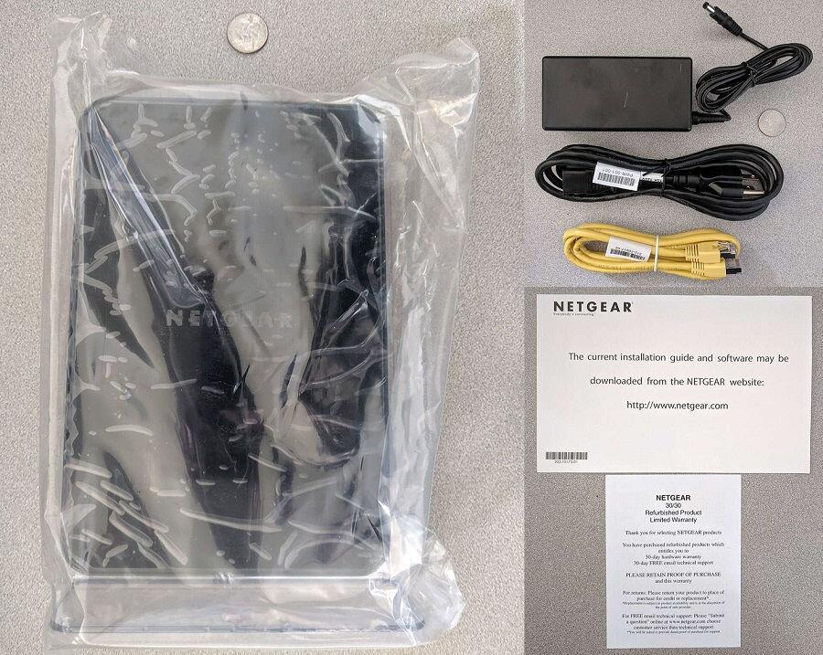 Netgear_R4500_router_package, doc, cable